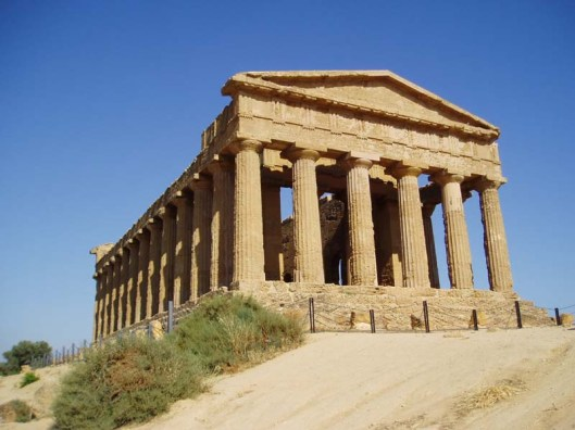 classic Greek temple