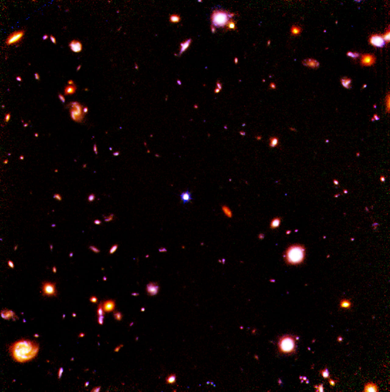 Hubble Deep Field in Infrared