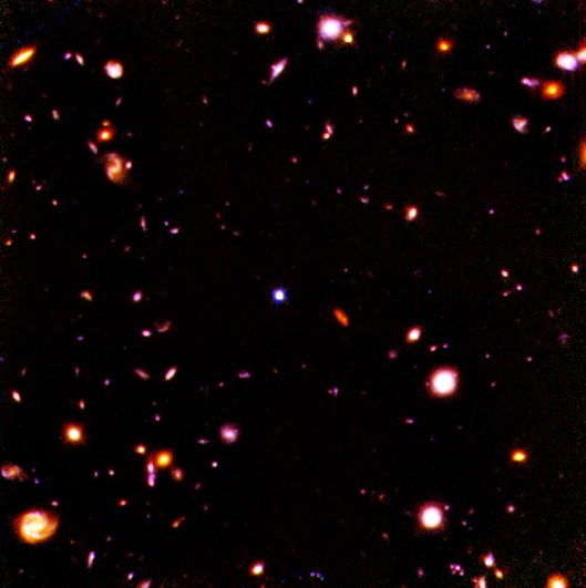 Hubble Deep Field in Infrared